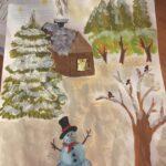Письменный 6в зимняя сказка