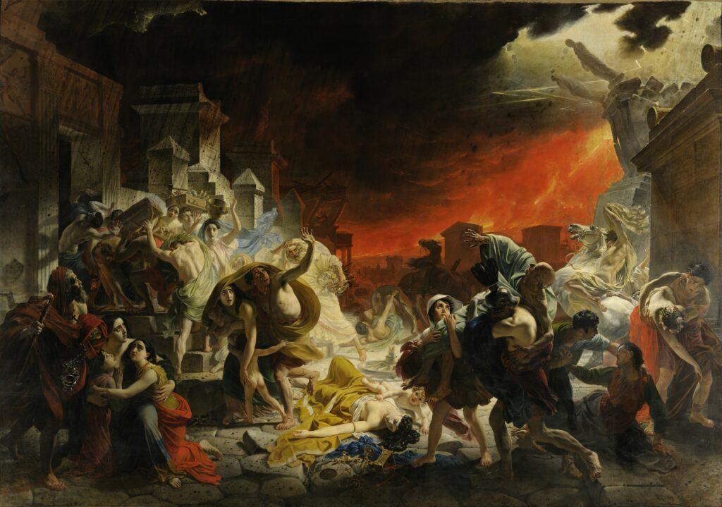 «Последний день Помпеи» (1830-1833). Карл Павлович Брюллов