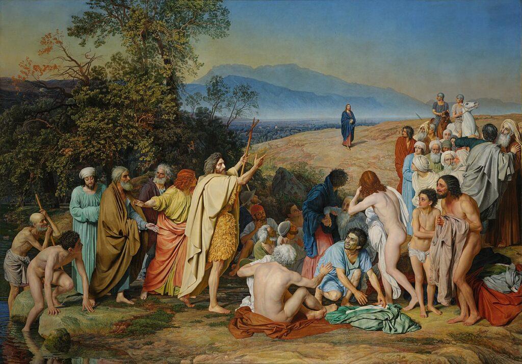 «Явление Христа народу» (1837-1857). Александр Андреевич Иванов